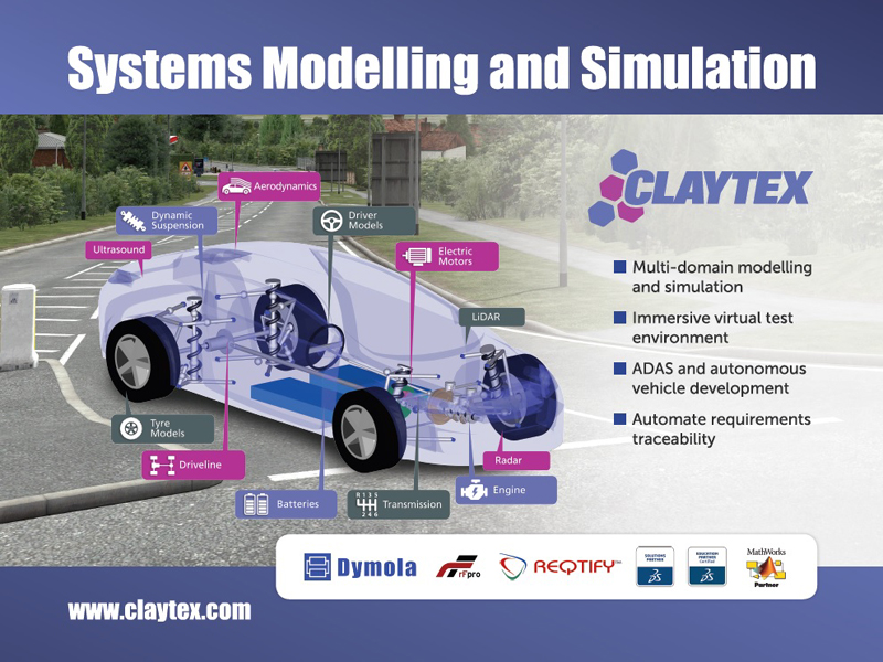 Claytex Services - Silverstone Technology Cluster